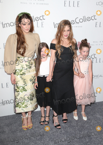 Lisa Maris Photo - 16 October 2017 - Beverly Hills California - Riley Keough Lisa Marie Presley Finley Aaron Love Lockwood Harper Vivienne Ann Lockwood ELLE 24th Annual Women in Hollywood Celebration held at Four Seasons Hotel Los Angeles Photo Credit F SadouAdMedia