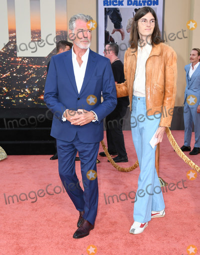Pierce Brosnan Photo - 22 July 2019 - Hollywood California - Pierce Brosnan Once Upon A Time In Hollywood Los Angeles Premiere held at The TCL Chinese Theatre Photo Credit Birdie ThompsonAdMedia