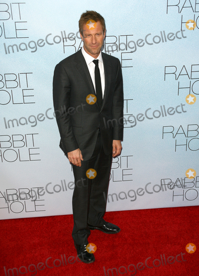 Aaron Eckhart Photo - 02 December 2010 - New York NY - Aaron Eckhart  Rabbit Hole the New York City Premiere held at the Paris Theater Photo Paul ZimmermanAdMedia
