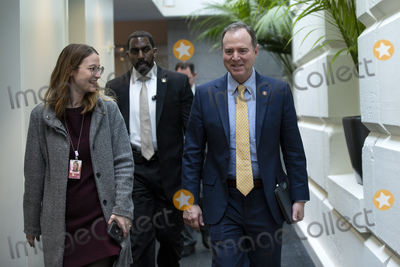 Adam Schiff Photo - United States Representative Adam Schiff (Democrat of California) arrives to the weekly Democratic caucus meeting at the United States Capitol in Washington DC US on Tuesday February 11 2020  Credit Stefani Reynolds  CNPAdMedia