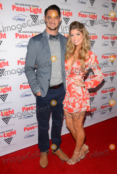 Tyler Beede Photo - 02 February 2015 - Hollywood Ca - Tyler Beede Allie DeBerry Arrivals for Pass the Light Los Angeles premiere held at The ArcLight Cinemas Photo Credit Birdie ThompsonAdMedia