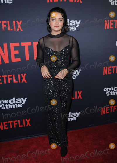 Ariela Barer Photo - 24 January 2018 - Hollywood California - Ariela Barer Netflixs One Day At A Time Season 2 Premiere Screening held at Arclight Hollywood Photo Credit Birdie ThompsonAdMedia