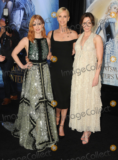 Emily Blunt Photo - 11 April 2016 - Westwood California - Jessica Chastain Charlize Theron Emily Blunt Arrivals for the American Premiere of Universal Pictures The HuntsmanWinters War held at Regency Theater Village Photo Credit Birdie ThompsonAdMedia