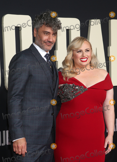 Rebel Wilson Photo - LOS ANGELES CA - OCTOBER 15 Taika Waititi Rebel Wilson at Premiere Of Fox Searchlights Jojo Rabbit at Post 43  in Los Angeles California on October 15 2019 Credit Faye SadouMediaPunch