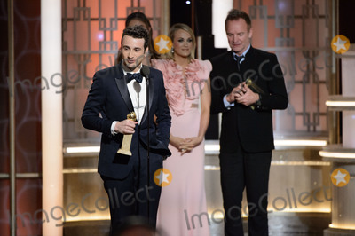 Sting Photo - Justin Hurwitz Carrie Underwood and Sting 74th Annual Golden Globes Awards held at the Beverly Hilton in Beverly Hills CA on Sunday January 8 2017 Photo Credit HFPAAdMedia