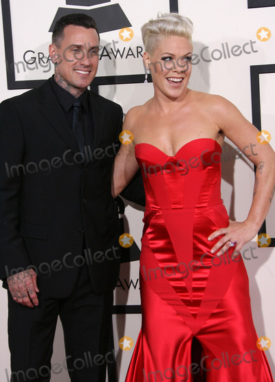 Alecia Moore Photo - 26 January 2014 - Los Angeles California - Carey Hart Pink Alecia Moore 56th GRAMMY Awards held at the Staples Center Photo Credit AdMedia