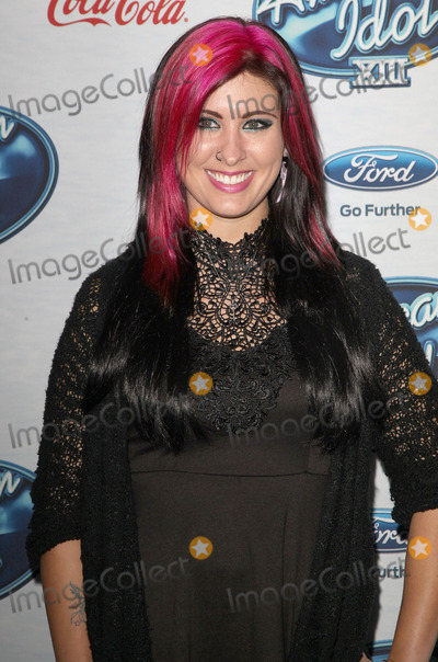 Jessica Meuse Photo - 20 February 2014 - West Hollywood California - Jessica Meuse Foxs American Idol XIII Finalists Party held at Fig  Olive Melrose Place Photo Credit F SadouAdMedia