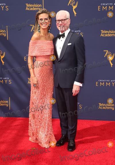Tim Gunn Photo - 09 September 2018- Los Angles California - Heidi Klum Tim Gunn  2018 Creative Arts Emmy Awards - Day 2 held at the Microsoft Theater LA LIVE Photo Credit Faye SadouAdMedia