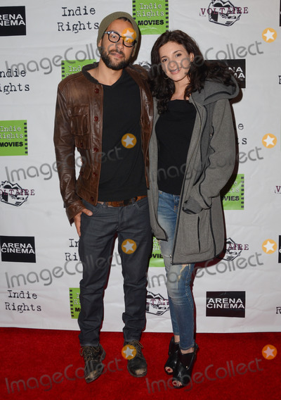Anatasia Antonio Photo - 15 May 2015 - Hollywood California - Amza Moglan Anatasia Antonio Arrivals for the premiere of Indie Rights Miles to Go held at Arena Cinema Photo Credit Birdie ThompsonAdMedia