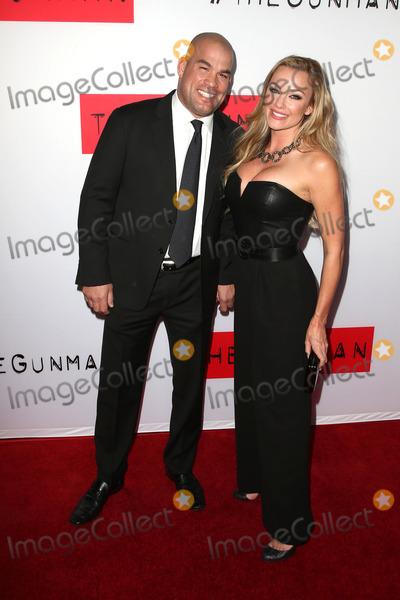 Amber Miller Photo - 12 March 2015 - Los Angeles California - Tito Ortiz Amber Miller The Gunman Los Angeles Premiere held at Regal Cinemas LA Photo Credit F SadouAdMedia