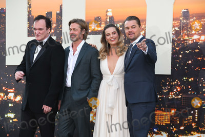 Margot Robbie Photo - 22 July 2019 - Hollywood California - Quentin Tarantino Brad Pitt Margot Robbie Leonardo DiCaprio Once Upon A Time In Hollywood Los Angeles Premiere held at The TCL Chinese Theatre Photo Credit Birdie ThompsonAdMedia