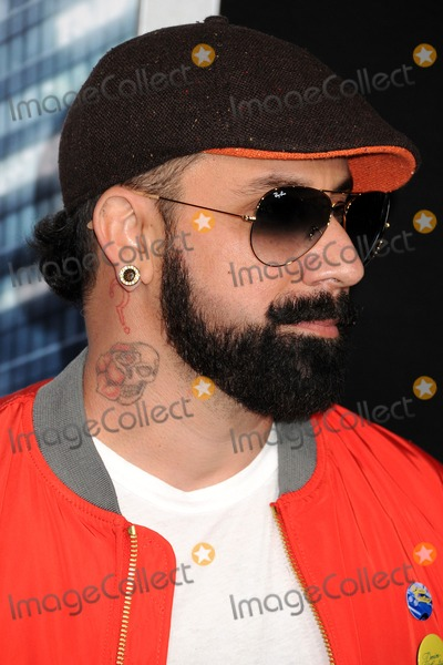 AJ McLean Photo - 10 February 2014 - Hollywood California - AJ McLean Robocop Los Angeles Premiere held at the TCL Chinese Theatre Photo Credit Byron PurvisAdMedia