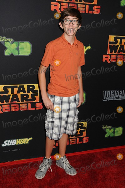 Augie Isaac Photo - 27 September 2014 - Century City California - Augie Isaac Star Wars Rebels Spark of Rebellion Los Angeles Special Screening held at the AMC Century City 15 Photo Credit Byron PurvisAdMedia