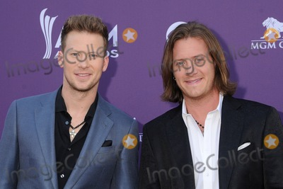 Brian Kelley Photo - 7 April 2013 - Las Vegas California - Brian Kelley Tyler Hubbard Florida Georgia Line 48th Annual Academy of Country Music Awards - Arrivals held at the MGM Grand Garden Arena Photo Credit Byron PurvisAdMedia