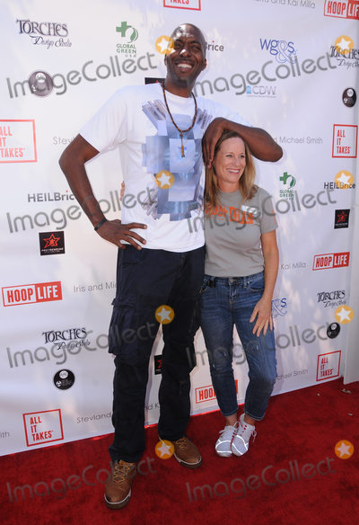John Salley Photo - 28 August 2016 - Los Angeles California John Salley Lori Woodley The 4th Annual Kailand Obashi Hoop-Life Fundraiser held at Galen Center at USC Photo Credit Birdie ThompsonAdMedia