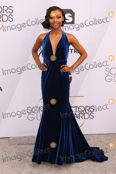 Ashleigh LaThrop Photo - 27 January 2019 - Los Angeles California - Ashleigh LaThrop 25th Annual Screen Actors Guild Awards held at The Shrine Auditorium Photo Credit Faye SadouAdMedia
