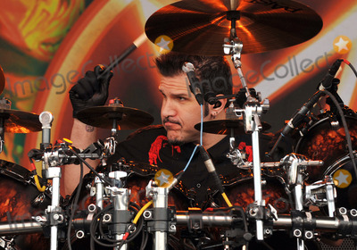 Anthrax Photo - 20 May 2012 - Columbus OH -  Drummer CHARLIE BENANTE of the thrash metal band ANTHRAX performs at Day 2 of the  Rock On The Range Festival held at Crew Stadium Photo Credit Jason L NelsonAdMedia