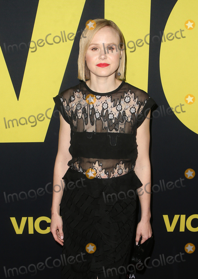 Alison Pill Photo - 11 December 2018 - Beverly Hills California - Alison Pill the Vice World Premiere at the Academy held at AMPAS Samuel Goldwyn Theater Photo Credit Faye SadouAdMedia