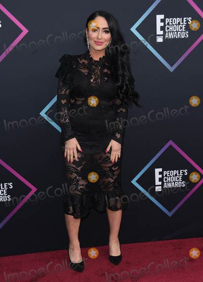 Angelina Pivarnick Photo - 11 November 2018 - Santa Monica California - Angelina Pivarnick 2018 E Peoples Choice Awards - Arrivals held at Barker Hangar Photo Credit Birdie ThompsonAdMedia