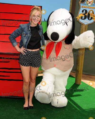 Audrey Whitby Photo - 26 June 2014 - Buena Park California - Audrey Whitby Camp Snoopys 30th Anniversary VIP Party held at Knotts Berry Farm Photo Credit Byron PurvisAdMedia