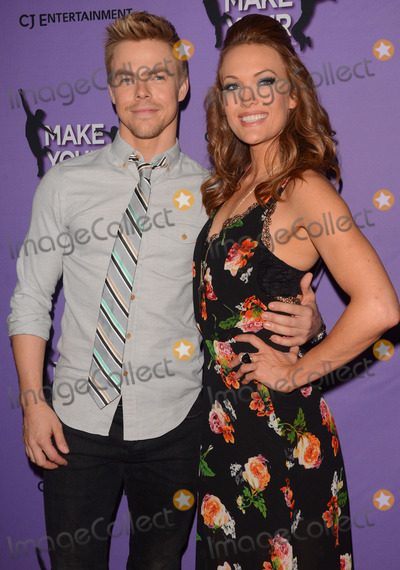 Amy Purdy Photo - 31 March 2014 - Los Angeles California - Derek Hough Amy Purdy Cast arrivals for the LA screening of Make Your Move held at Pacifics The Grove Stadium 14 in Los Angeles Photo Credit Birdie ThompsonAdMedia