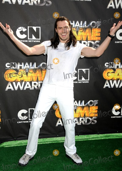 ANDREW WK Photo - 21 February 2011 - Santa Monica California - Andrew WK 1st Annual Cartoon Network Hall of Game Awards held at Barker Hangar Photo Byron PurvisAdMedia