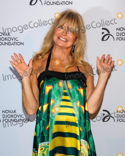 Goldie Hawn Photo - 10 September 2013 - New York New York - Goldie Hawn Novak Djokovic Foundation Benefit Dinner Photo Credit Mario SantoroAdMedia