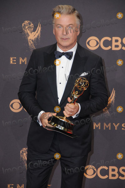 Alec Baldwin Photo - 17 September  2017 - Los Angeles California - Alec Baldwin 69th Annual Primetime Emmy Awards -  Press Room held at Microsoft Theater in Los Angeles Photo Credit Birdie ThompsonAdMedia