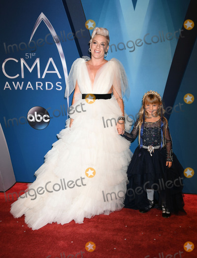 Alecia Moore Photo - 08 November 2017 - Nashville Tennessee - Willow Sage Hart Pink Alecia Moore 51st Annual CMA Awards Country Musics Biggest Night held at Music City Center Photo Credit Laura FarrAdMedia