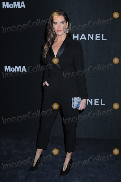 Brooke Shields Photo - 12 November 2019 - New York New York - Brooke Shields at the Museum of Modern Art Film Benefit presented by CHANEL A Tribute to LAURA DERN at MoMA Photo Credit LJ FotosAdMedia