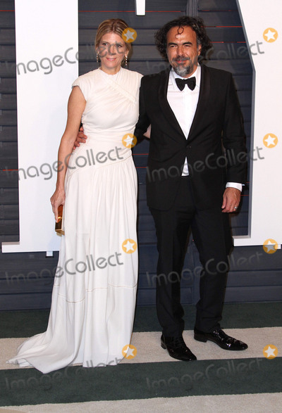 The 88 Photo - 28 February 2016 - Beverly Hills California - Alejandro Gonzalez Inarritu Maria Eladia Hagerman 2016 Vanity Fair Oscar Party hosted by Graydon Carter following the 88th Academy Awards held at the Wallis Annenberg Center for the Performing Arts Photo Credit AdMedia