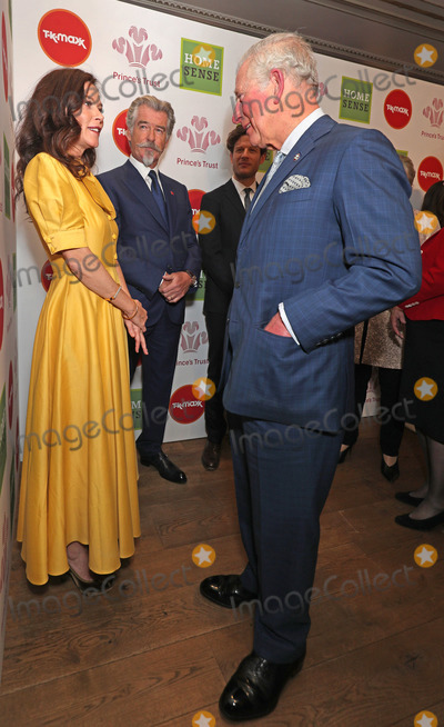 Pierce Brosnan Photo - 11032020 - Anna Friel Pierce Brosnan James Norton and Prince Charles at The Princes Trust Awards 2020 At The London Palladium Photo Credit ALPRAdMedia