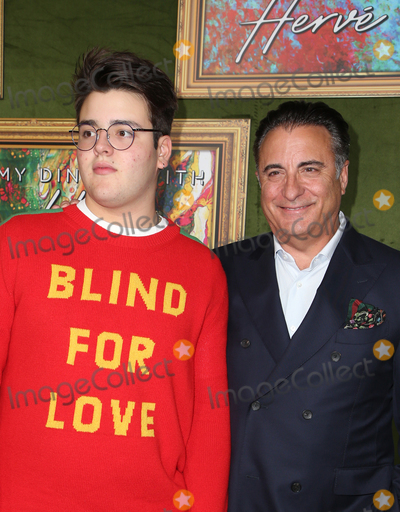 Andres Garcia Photo - 4 October 2018-  Hollywood California - Andy Garcia Andres Garcia-Lorido HBO Films My Dinner With Herve Premiere held at Paramount Studios Photo Credit Faye SadouAdMedia