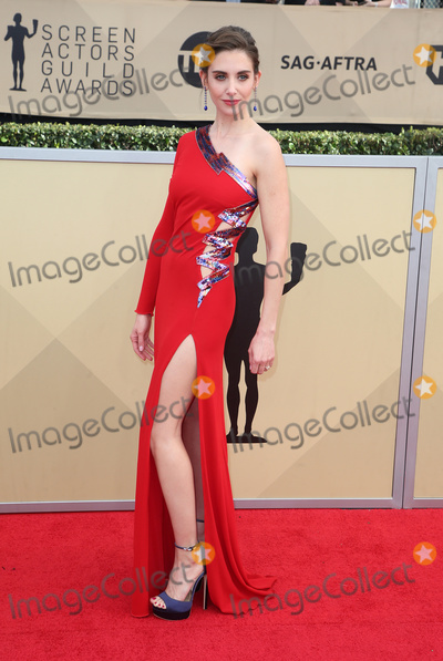 Allison Brie Photo - 21 January 2018 - Los Angeles California - Allison Brie 24th Annual Screen Actors Guild Awards held at The Shrine Auditorium Photo Credit RetnaAdMedia