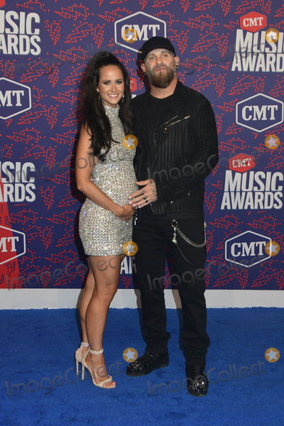 Amber Cochran Photo - 05 June 2019 - Nashville Tennessee - Brantley Gilbert Amber Cochran 2019 CMT Music Awards held at Bridgestone Arena Photo Credit Dara-Michelle FarrAdMedia