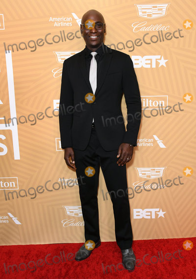 Lance Reddick Photo - 23 February 2020 - Beverly Hills California - Lance Reddick American Black Film Festival Honors Awards Ceremony held at the Beverly Hilton Hotel Photo Credit Birdie ThompsonAdMedia