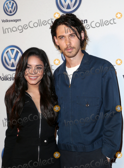 Austin Butler Photo - 30 November 2018 - Los Angeles California - Vanessa Hudgens And Austin Butler Vanessa Hudgens And Austin Butler Celebrate Volkswagens Annual Drive-In Event held at The Goya Studios Photo Credit Faye SadouAdMedia