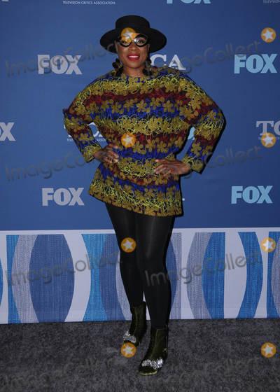 Aisha Hinds Photo - 04 January 2018 - Pasadena California - Aisha Hinds FOX Winter TCA 2018 All-Star Partyheld at The Langham Huntington Hotel in Pasadena Photo Credit Birdie ThompsonAdMedia