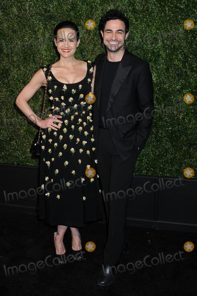Carla Gugino Photo - Carla Gugino and Zac Posen at the CHANEL Tribeca Film Festival Artists Dinner at Balthazar in Soho in New York New York USA 29 April 2019