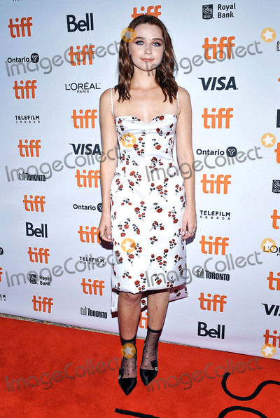 Wale Photo - 12 September 2019 - Toronto Ontario Canada - Jessica Barden 2019 Toronto International Film Festival - Jungleland Photo Call held at Princess of Wales Theatre Photo Credit Brent PerniacAdMedia