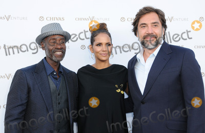 Javier Bardem Photo - 13 July 2017 - Los Angeles California - Don Cheadle Halle Berry Javier Bardem Chivas Regal The Final Pitch held at the LADC Studios in Los Angeles Photo Credit Birdie ThompsonAdMedia