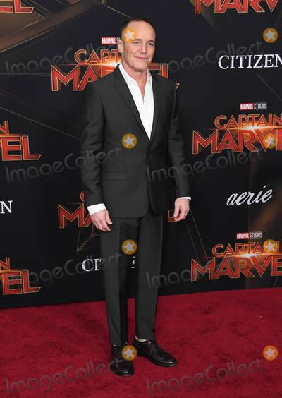 Clarke Gregg Photo - 04 March 2019 - Hollywood California - Clark Gregg Captain Marvel Los Angeles Premiere held at El Capitan Theater Photo Credit Birdie ThompsonAdMedia