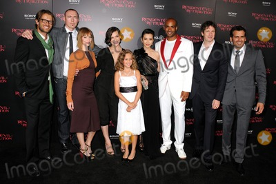 Aryana Engineer Photo - 12 September 2012 - Los Angeles California - Johann Urb Kevin Durand Sienna Guillory Milla Jovovich Aryana Engineer Li Bingbing Boris Kodjoe Paul WS Anderson Oded Fehr Resident Evil Retribution Los Angeles Premiere held at Regal Cinemas LA Live Photo Credit Byron PurvisAdMedia