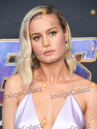 Brie Larson Photo - 22 April 2019 - Los Angeles California - Brie Larson Marvel Studios Avengers Endgame Los Angeles Premiere held at Los Angeles Convention Center Photo Credit Birdie ThompsonAdMedia