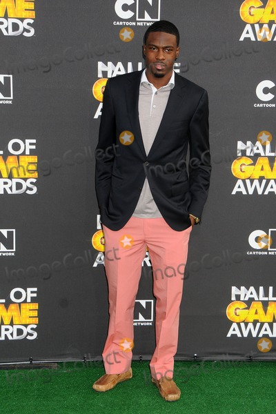 AJ Green Photo - 18 February 2012 - Santa Monica California - AJ Green 2012 Cartoon Network Hall of Game Awards held at Barker Hangar Photo Credit Byron PurvisAdMedia