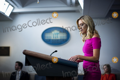 The White Photo - Kayleigh McEnany White House press secretary speaks during a news conference in the James S Brady Press Briefing Room at the White House in Washington DC US on Monday June 22 2020 Credit Al Drago  Pool via CNPAdMedia