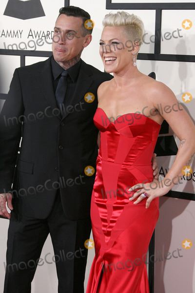 Alecia Moore Photo - 26 January 2014 - Los Angeles California - Carey Hart Pink Alecia Moore 56th GRAMMY Awards held at the Staples Center Photo Credit AdMedia