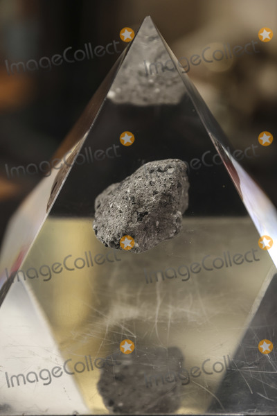 Kamala Harris Photo - A moon rock encased in acrylic sits on a table ahead of Bill Nelson former Democratic Senator from Florida and administrator of the National Aeronautics and Space Administration (NASA) during a swearing in ceremony with US Vice President Kamala Harris in the Eisenhower Executive Office Building in Washington DC US on May 3 2021 The Senate confirmed Nelson on April 29 and had served as the chairman and ranking member of the Senate subcommittee that oversees NASA Credit Oliver Contreras  Pool via CNPAdMedia