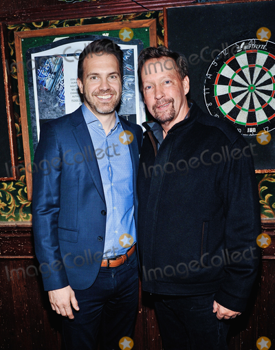 D B Sweeney Photo - 09 November 2019 - Hamilton Ontario Canada  Actors Darrin Rose and DB Sweeney at the 14th annual Hamilton Film Festival at The Westdale Theatre Photo Credit Brent PerniacAdMedia