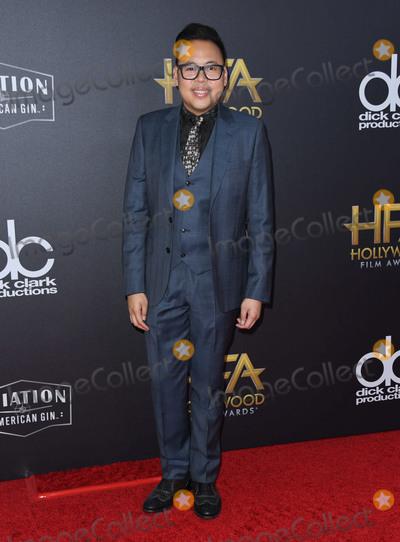 Nick Santos Photo - 04 November 2018 - Beverly Hills California - Nick Santos 22nd Annual Hollywood Film Awards held at Beverly Hilton Hotel Photo Credit Birdie ThompsonAdMedia